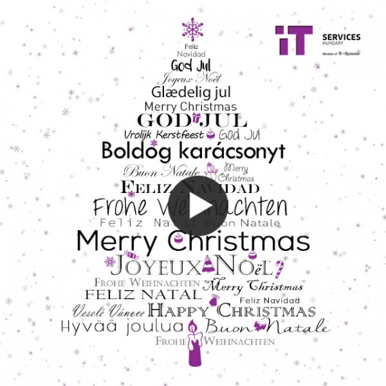 Merry Christmas and a Happy New Year! | IT Services Hungary